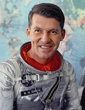 "Walter Marty ""Wally"" Schirra, Jr. (March 12, 1923 – May 3, 2007)"