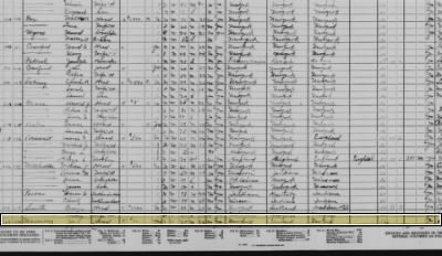 Jay Manning in the 1930 census.