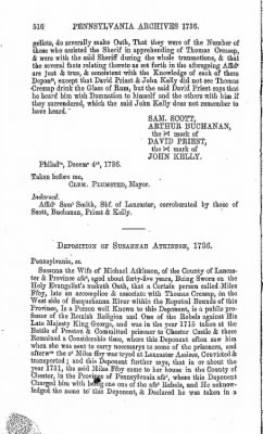 Pennsylvania Archives 1736 › Page 516 - Fold3.com