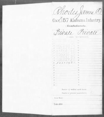 Confederate Service Record (1 of 12) - Fold3.com