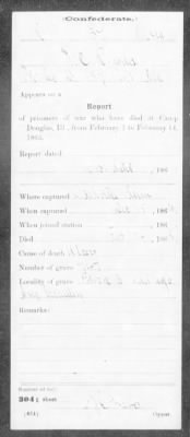 Confederate Service Record (10 of 12)