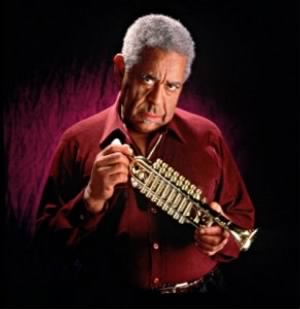 John Birks Gillespie AKA Dizzy Gillespie (October 21, 1917 – January 6, 1993)