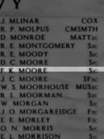 MOORE, Fred Kenneth