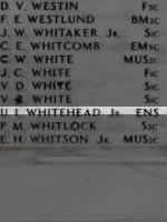 WHITEHEAD, Ulmont Irving Jr