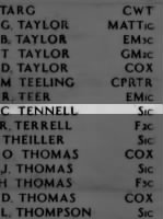 TENNELL, Raymond Clifford