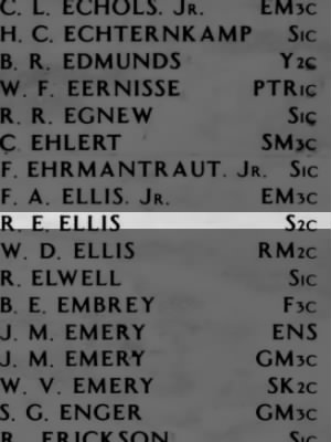 ELLIS, Richard Everrett