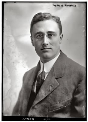 Franklin Roosevelt in 1911