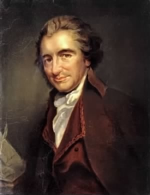 Portrait, Thomas Paine
