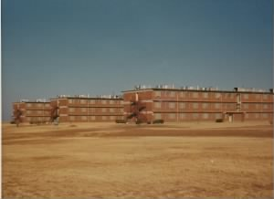 Dyess Air Force Base barracks (January, 1967)
