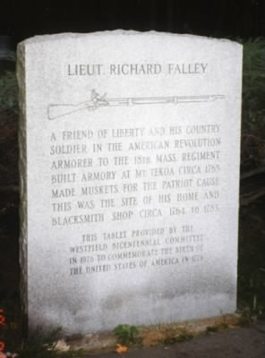 Lieut. Richard Falley Monument