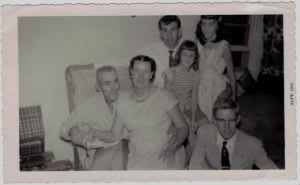 Charles and family 1958.