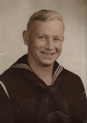 USN, P.O.3 Richard C Linsenmaier, Aviation Machinist.