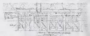 Plans of an Appartment Garage designed by E.A. Nolan
