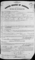 Petition for Naturalization (1928)