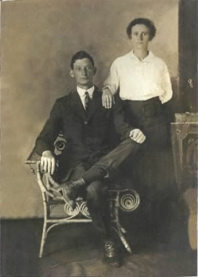 "Francis Elmore ""Elmer"" Bradley and Rutha Mae Johnson"