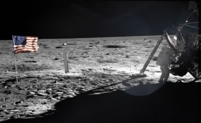 Neil Armstrong On The Moon - Fold3.com