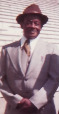 Elias Bowie, c.1977, at Santa Barbara, California