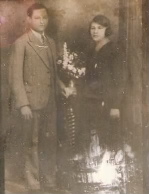 Meliton Cruz Donato and Baldomera Cruz Donato (1920's)