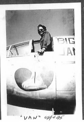 Lt Edwin C Vantrease, 321st Bomb Group, 447th Bomb Squadron