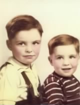 Dad,on the left and Uncle Jake