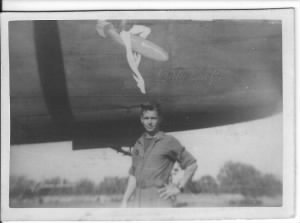 Bernie Quilty also flew Mission with Lt Dick Spingler in the Lady Luck