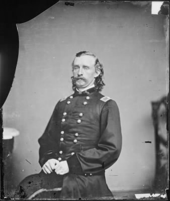 Mathew B Brady Collection of Civil War Photographs › B-4169 Gen George A. Custer - Fold3.com
