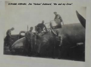 "T/Sgt James ""Nelson"" Gabbard, B-26 Flight Engineer/Tail Gunner"