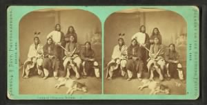 A Group of Chippewa Indians