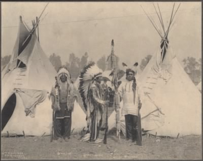 50 - Black Foot, Standing Bear, Big Eagle, Sioux