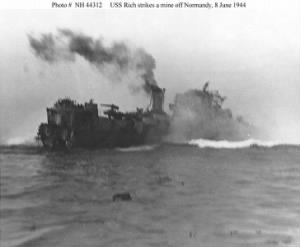 """TOMMY"" Thomas G Miller, KIA D-Day 8 June,'44 (USS Rich (DE-695)"