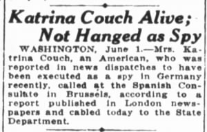 San Francisco Chronicle, Sat. June 2, 1917