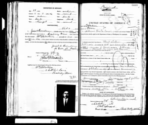 U.S. Passport for Catherine Priebs Couch Page 1 of 2