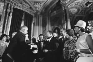 Lyndon Johnson and Martin Luther King, Jr - Voting Rights.jpg