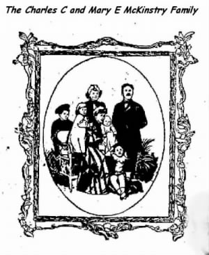 The Charles C and Mary E McKinstry Family, Doylestown, PA