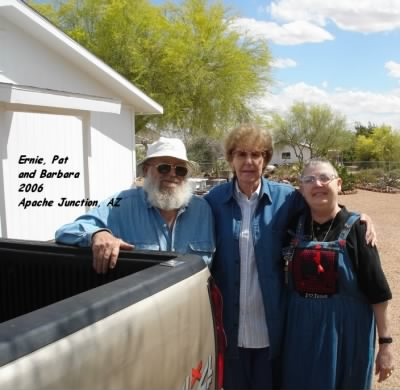 Elmer (and Mabel's) Son, Ernie with Pat abd Friend, Barbara. - Fold3.com