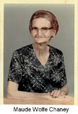 Maude Lee Wolfe Chaney