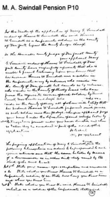 Mary A. Swindall Pension Page 10