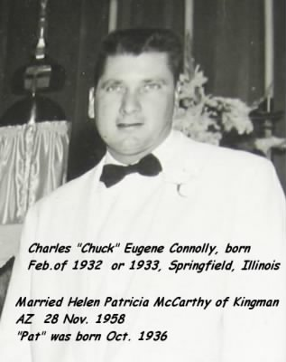 Charles Eugene Connolly, 1960, Married to
