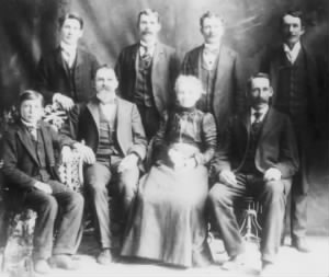William and Eliza Hull Family