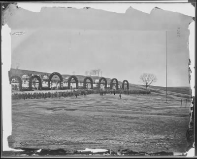 Mathew B Brady Collection of Civil War Photographs › B-195 Camp of 44th New York Infantry near Alexandria, Virginia. - Fold3.com