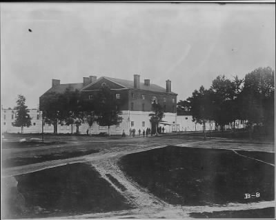 Mathew B Brady Collection of Civil War Photographs › B-8 Old Capitol Prison - Fold3.com