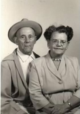 James and Veola Andrews 1956