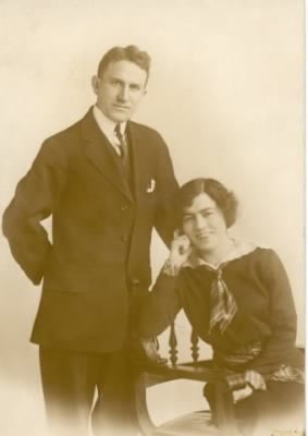 Edward John Cagney and wife, Mary Veronica Baldwin