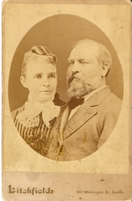 President and Mrs. James A. Garfield