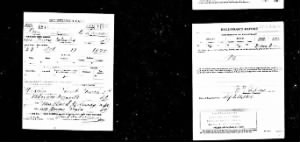 WWI U.S. Draft Card of Paul de Launay