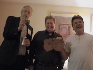 Kenny laughing it up with Tom Bopp and Doug Miller