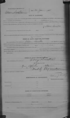 Part of Adam Sanetra's naturalization record.