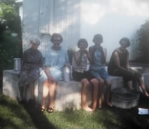 Summer 1966 at Lydia Taylor's in Yale OK
