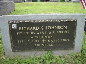 Lr Richard Johnson, B-25 Pilot MIA-POW 1915-2005