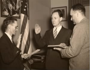 Dr. Crain Sworn In